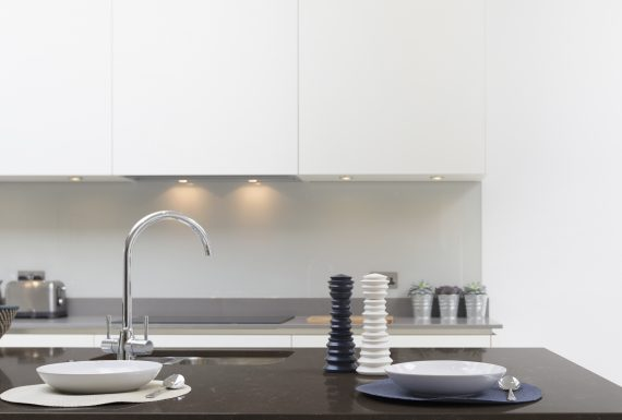 Silestone Küche - Nebula Alpha 1