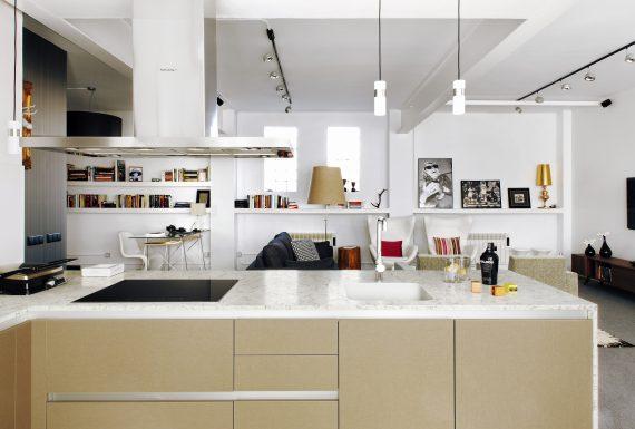 Silestone Küche - Blanco Orion
